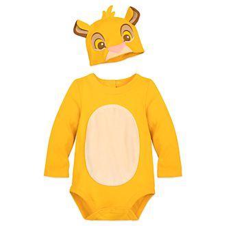 Disney Store Simba Baby Costume Body Suit
