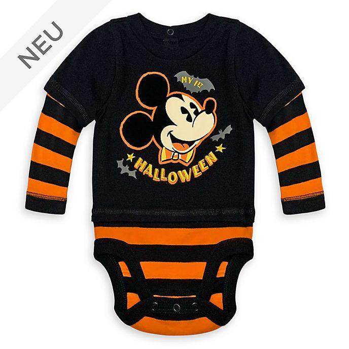 Disney Store - Micky Maus - Halloweenkostüm-Body für Babys