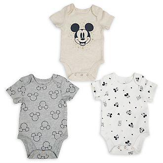 Tutine baby Topolino e i suoi amici Disney Store, confezione da 3