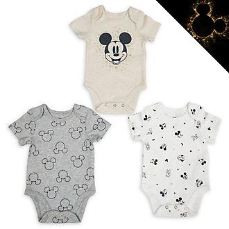 Peleles para bebé Mickey y sus amigos, Disney Store (juego de 3)