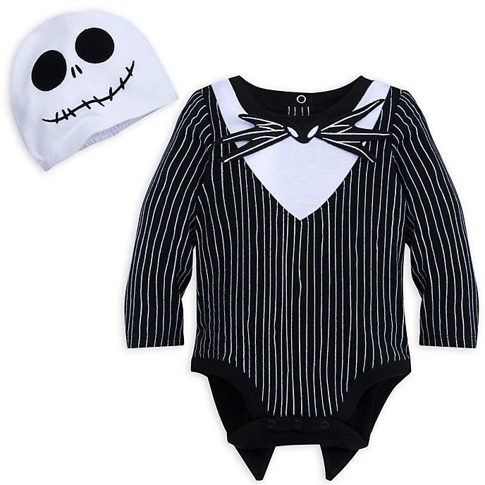 Disney Store Jack Skellington Baby Costume Body Suit