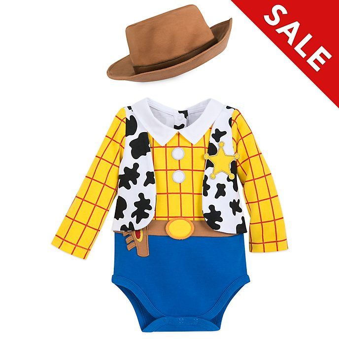 Disney Store Woody Baby Costume Body Suit