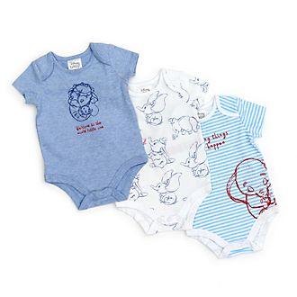 Tutine baby Dumbo Disney Store, confezione da 3