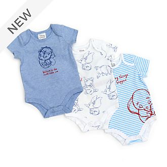 Disney Store Dumbo Baby Body Suits, Set of 3