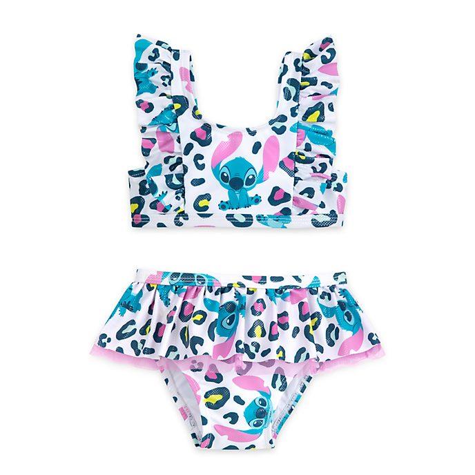Disney Store Stitch 2 Piece Swimsuit For Kids