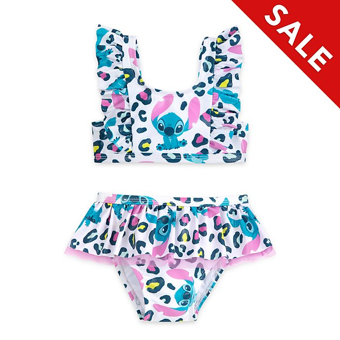 Disney Store Stitch 2 Piece Swimsuit For Kids