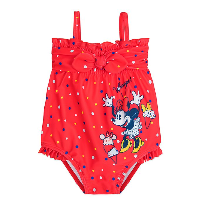 Disney Store Minnie Mouse Baby Swimming Costume