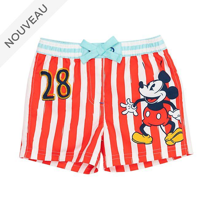 Disney Store Short de bain Mickey Mouse pour bébé