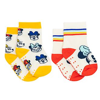 Disney Store Minnie Mouse Baby Socks, 2 Pairs