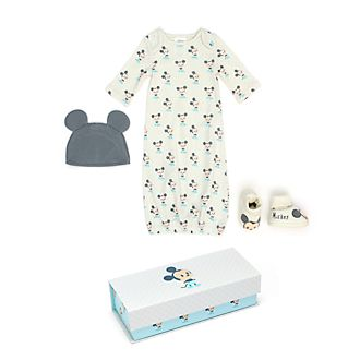 Disney Store Mickey Mouse Baby Sleeper Gown Set