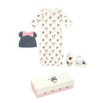 Disney Store Minnie Mouse Baby Sleeper Gown Set