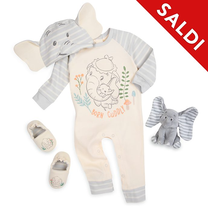Set regalo baby Dumbo Disney Store