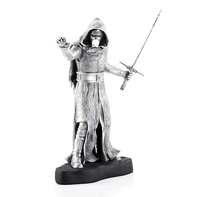 Royal Selangor Limited Edition Pewter Kylo Ren Figure, Star Wars: The Force Awakens