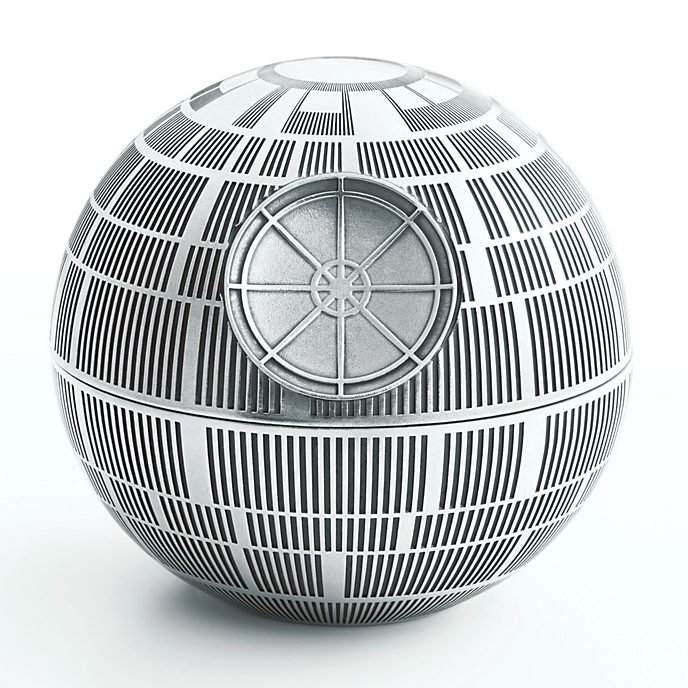 Royal Selangor Pewter Death Star Trinket Box, Star Wars