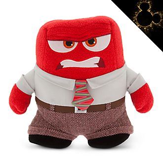 Disney Store Anger Small Soft Toy, Inside Out