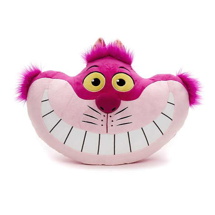 Cheshire Cat Big Face Cushion