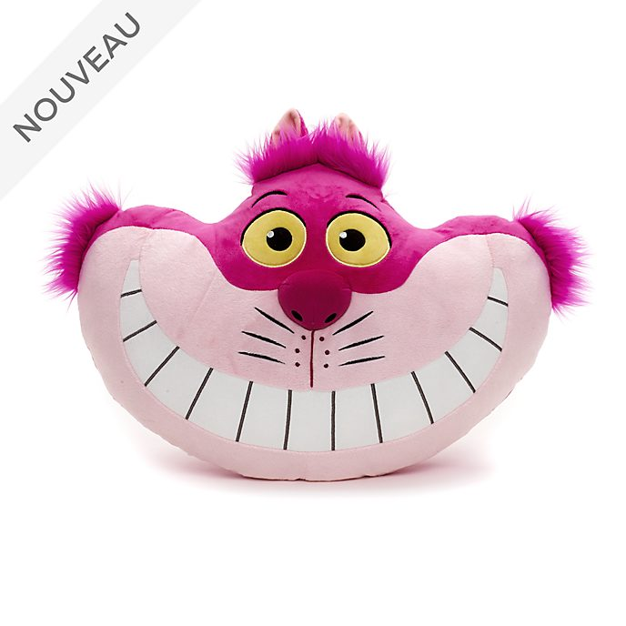 Coussin de la tête du Chat du Cheshire