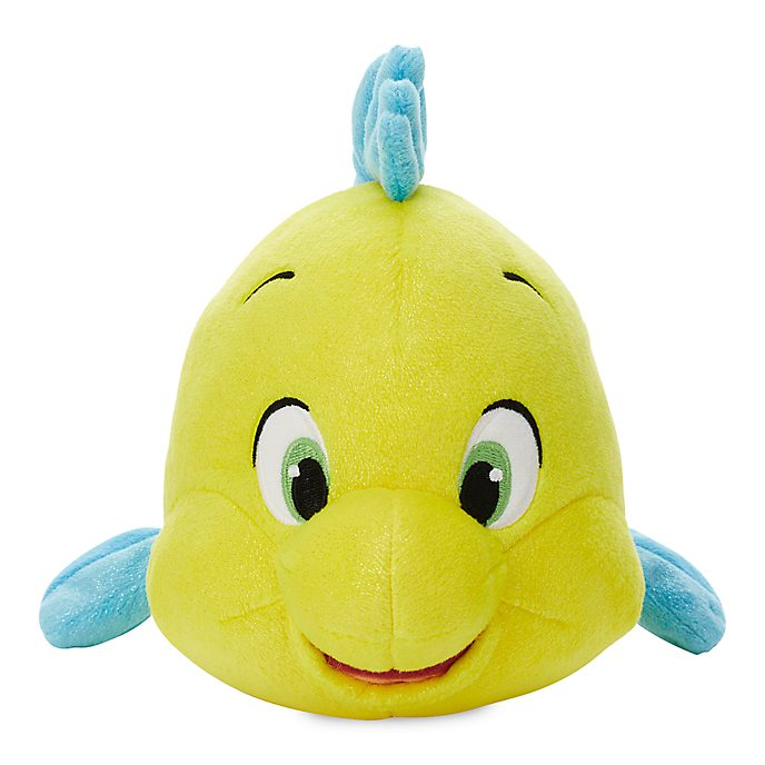 Disney Store Flounder Small Soft Toy