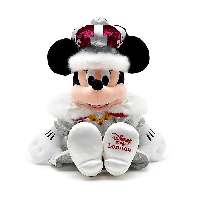 Peluche mediano Minnie Mouse reina, Disney Store