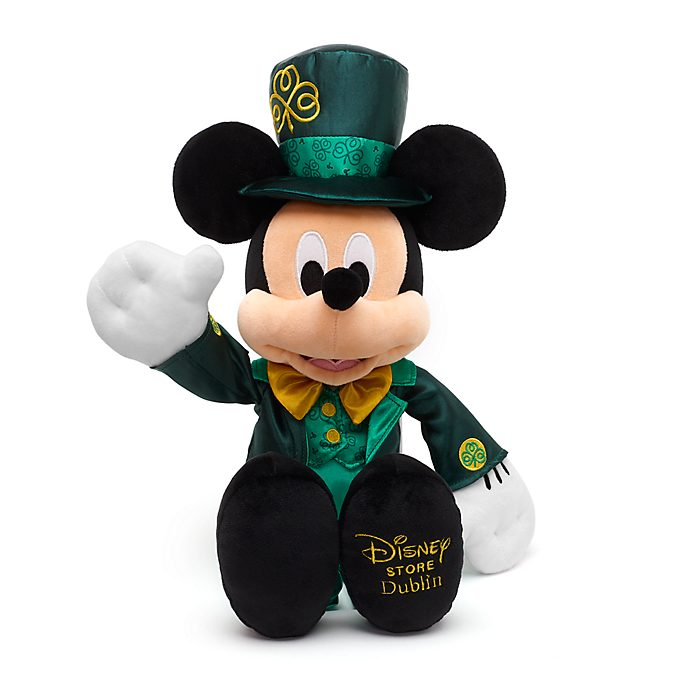 Disney Store Mickey Mouse Dublin Small Soft Toy