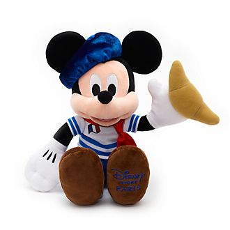 Disney Store Mickey Mouse Paris Small Soft Toy