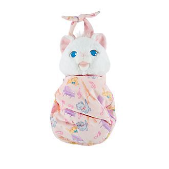 Disney Store Marie Small Soft Toy in Pouch
