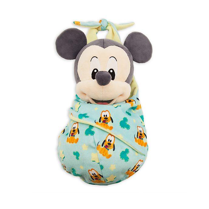 Disney Store - Micky Maus - Kuscheltier in Wickeldecke