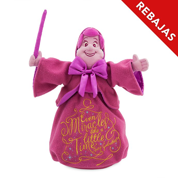 Peluche Hada Madrina, Disney Wisdom, Disney Store (12 de 12)