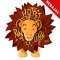 Peluche Simba, Disney Wisdom, Disney Store (11 de 12)