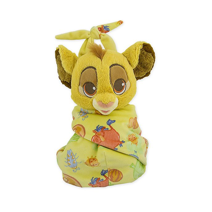 Peluche pequeño con manta Simba, Disney Store