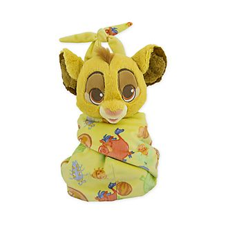 Disney Store Simba Small Soft Toy in Pouch