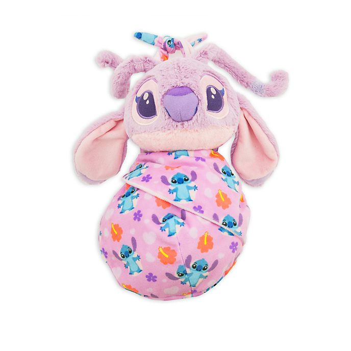 Disney Store Angel Disney Babies Small Soft Toy in Pouch