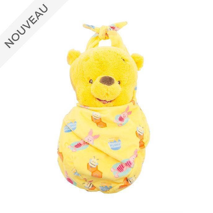 Disney Store Peluche Winnie l'Ourson emmaillotée pour bébé