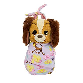 Disney Store Lady Small Soft Toy in Pouch