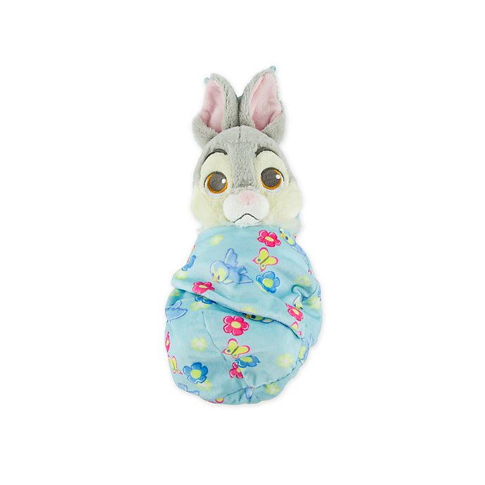 Disney Store Thumper Disney Babies Small Soft Toy in Pouch