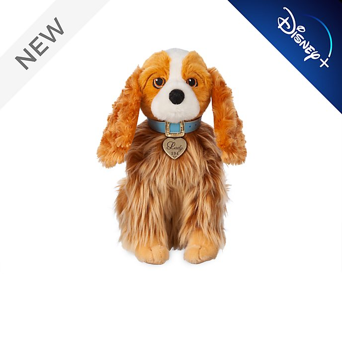 Disney Store Lady Small Soft Toy