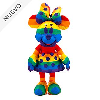 Peluche Minnie Mouse, Rainbow Disney,  Disney Store