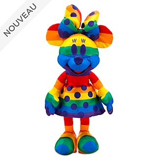 Disney Store Peluche Minnie Rainbow Disney
