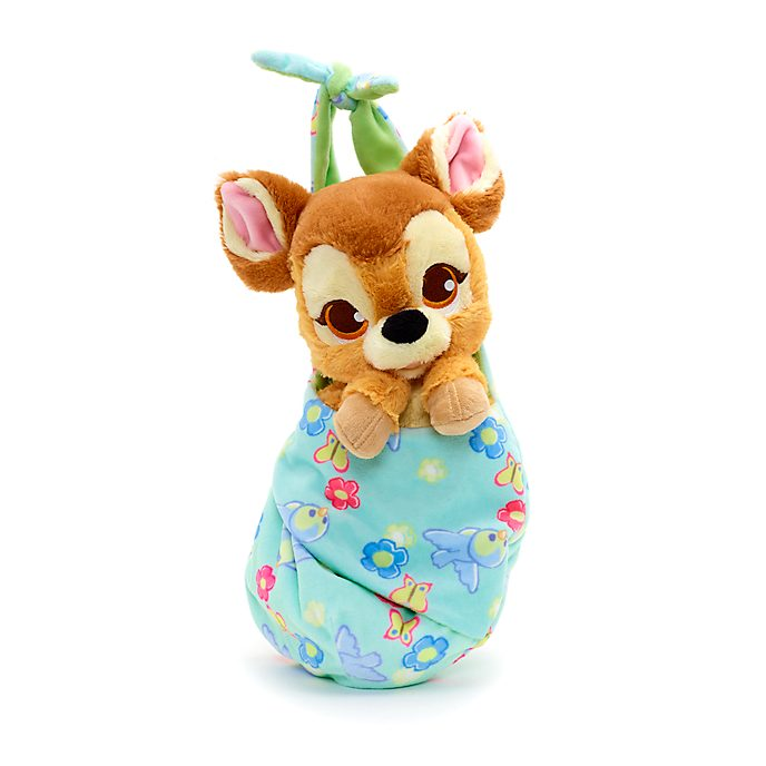 Disney Store Bambi Disney Babies Small Soft Toy in Pouch