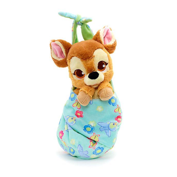 Disney Store - Disney Babies - Bambi - Kuscheltier in Wickeldecke
