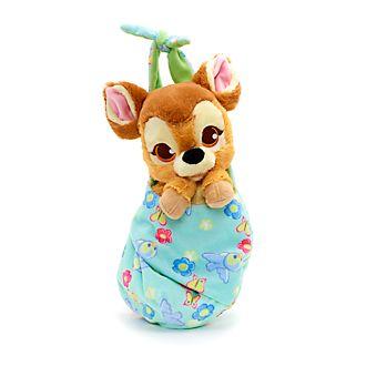 Peluche pequeño con manta Bambi, Disney Babies, Disney Store
