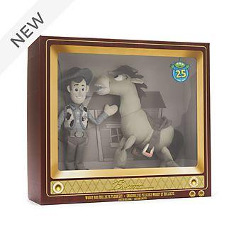 Disney Store Woody and Bullseye Soft Toy Set