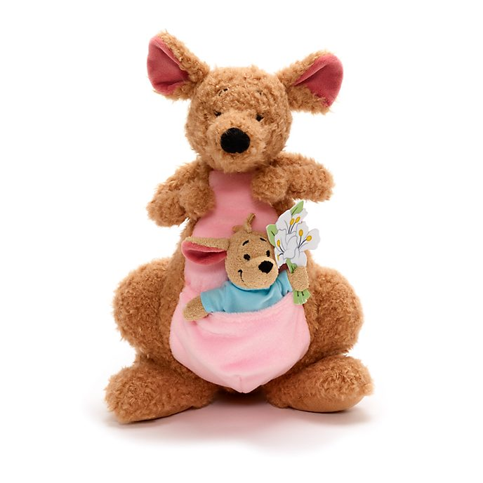 Disney Store Kanga and Roo Small Soft Toy Set