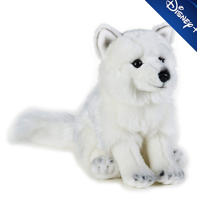 Disney Store Peluche moyenne renard polaire National Geographic