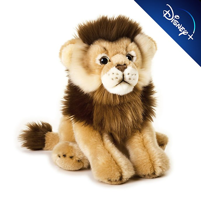 Disney Store Peluche moyenne lion National Geographic