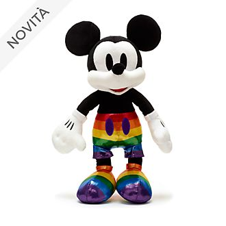 Peluche medio Topolino Rainbow Disney Disney Store