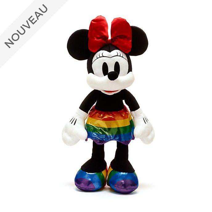 Disney Store Peluche moyenne Minnie, Rainbow Disney