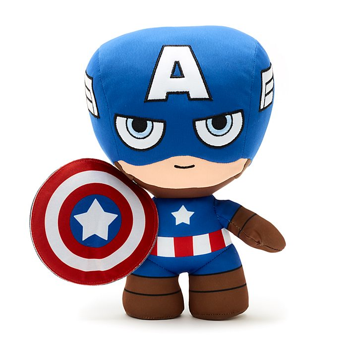 Disney Store Captain America Small Soft Toy