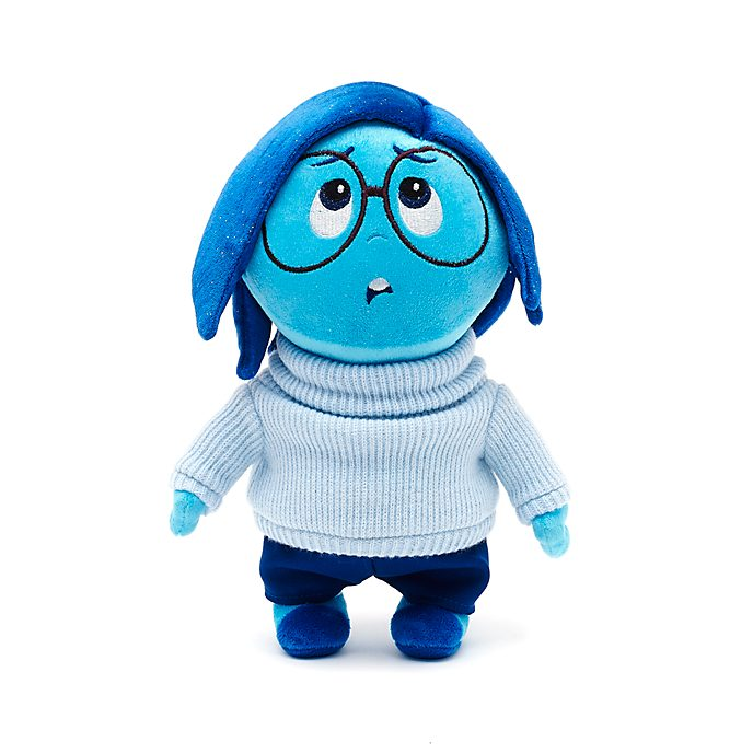 Disney Store Sadness Small Soft Toy, Inside Out