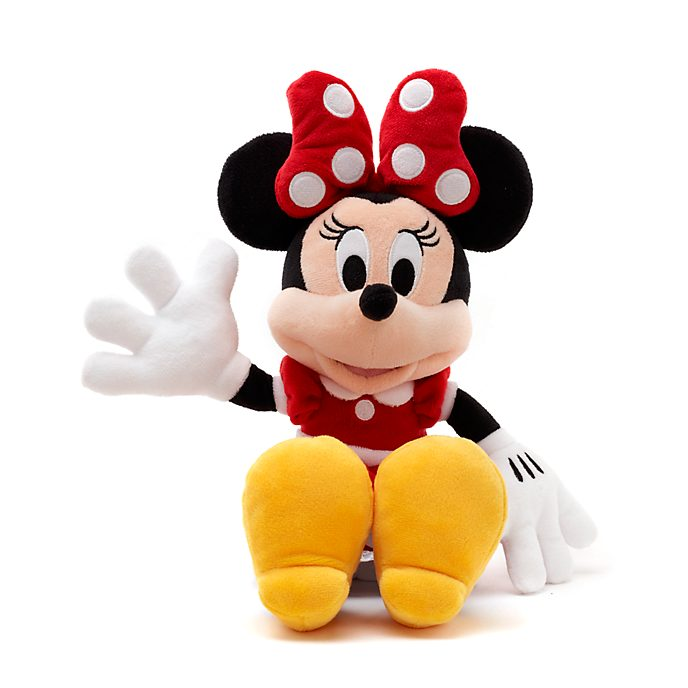 Petite peluche rouge Minnie Mouse